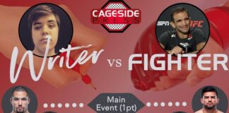 UFC Vegas 24 Writer vs Fighter