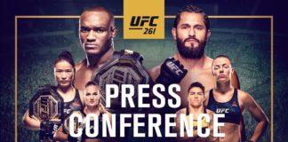 UFC 261 Press Conference