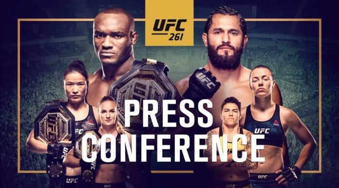 UFC 261 Press Conference