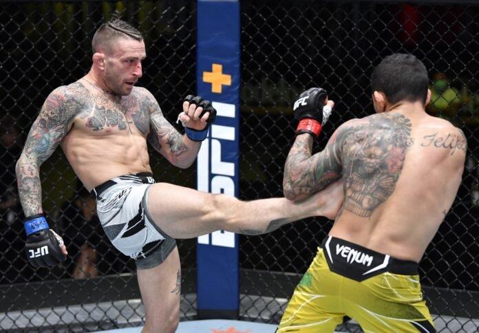 UFC Vegas 26 Gregor Gillespie