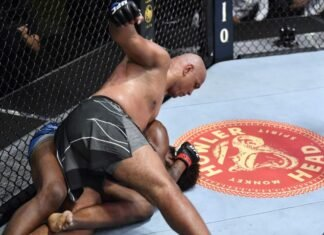 UFC Vegas 26 Marcos Rogerio De Lima