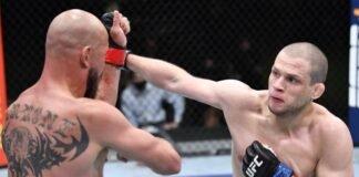 UFC Vegas 26 Alex Morono