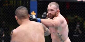 UFC Vegas 27 Jared Vanderaa