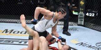 UFC Vegas 27 carla Esparza
