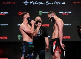 Logan Storley and Omar Hussein, Bellator 258 weigh-in