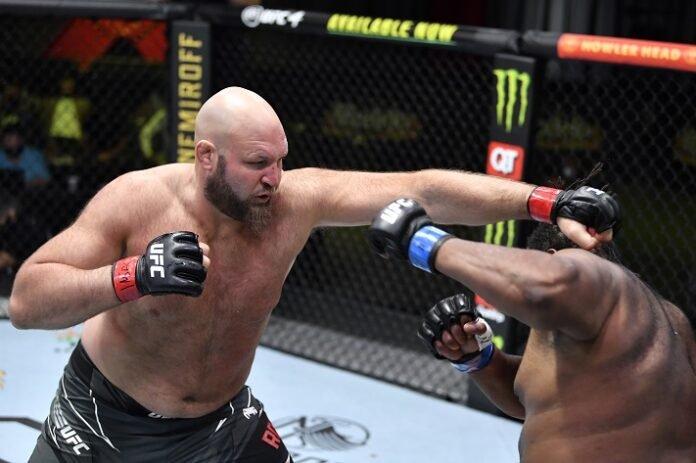 Ben Rothwell and Chris Barnett, UFC Vegas 27