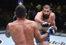 Court McGee and Claudio Silva, UFC Vegas 27