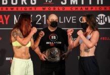 Cris Cyborg vs. Leslie Smith, Bellator 259