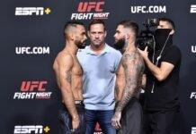 Cody Garbrandt and Rob Font, UFC Vegas 27