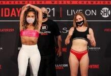 Valerie Loureda and Hannah Guy, Bellator 259