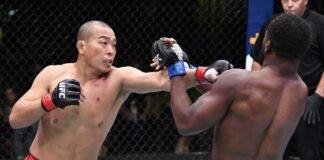 Jun Yong Park and Tafon Nchukwi, UFC Vegas 26