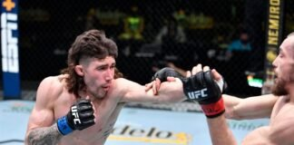 Mike Trizano and Ludoveit Klein, UFC Vegas 26