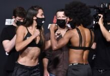 Amanda Ribas and Angela Hill, UFC Vegas 26