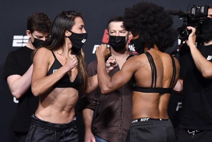Amanda Ribas and Angela Hill, UFC Vegas 26