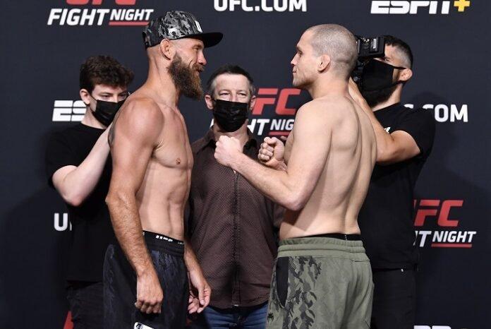 Cowboy Cerrone and Alex Morono, UFC Vegas 28