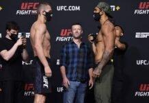 Tom Breese and Antonio Arroyo, UFC Vegas 28