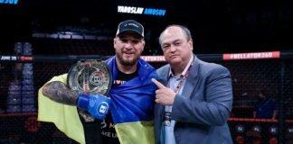 Yaroslav Amosov and Scott Coker, Bellator 260