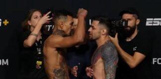 Andre Fili and Daniel Pineda, UFC Vegas 30