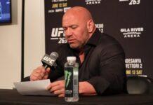 Dana White, UFC 263