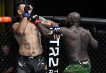 Augusto Sakai and Jairzinho Rozenstruik UFC Vegas 28