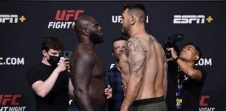 Jairzinho Rozenstruik vs. Augusto Sakai, UFC Vegas 28