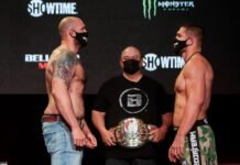 Timothy Johnson and Valentin Moldavsky, Bellator 261