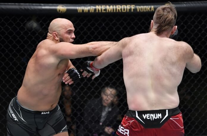 Ilir Latifi and Tanner Boser, UFC Vegas 28