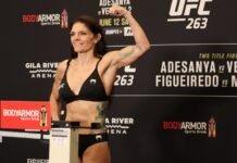 Lauren Murphy, UFC 263 weigh-in