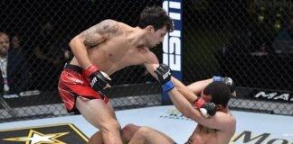 Jordan Leavitt and Claudio Puelles, UFC Vegas 28