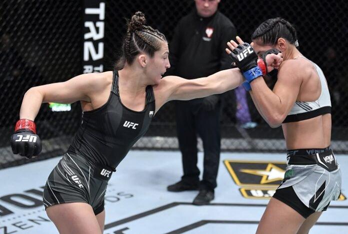 Montana De La Rosa vs. Ariane Lipski, UFC Veagas 28
