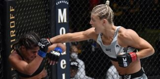 Tabatha Ricci and Manon Fiorot UFC Vegas 28