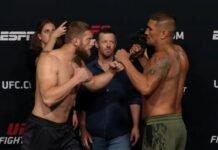 Marcin Prachnio and Ike Villanueva, UFC Vegas 30