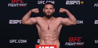 Nicolae Negumereanu UFC Vegas 29