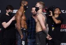Alan Patrick and Mason Jones, UFC Vegas 28