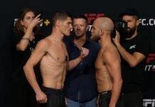 Charles Rosa and Justin Jaynes, UFC Vegas 30