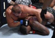 Walt Harris and Marcin Tybura, UFC Vegas 28
