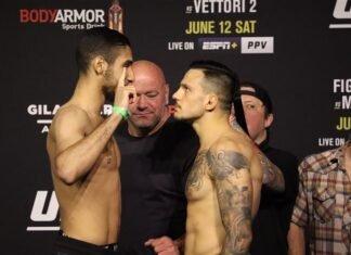 Fares Ziam and Luigi Vendramini, UFC 263