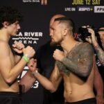 Chase Hooper and Steven Peterson, UFC 263