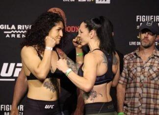 Pannie Kianzad and Alexis Davis, UFC 263