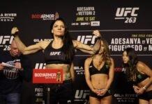 Lauren Murphy, UFC 263 ceremonial weigh-in