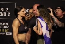 Lauren Murphy and Joanne Calderwood, UFC 263