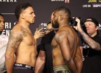 Eryk Anders and Darren Stewart, UFC 263