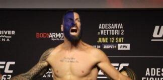 Paul Craig, UFC 263 Ceremonial Weigh-In