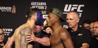 Paul Craig and Jamahal Hill, UFC 263