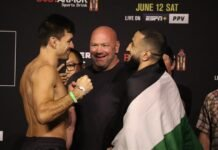 Demian Maia and Belal Muhammad, UFC 263