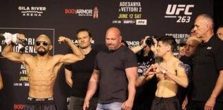 Deiveson Figueiredo and Brandon Moreno, UFC 263