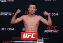 The Korean Zombie UFC Vegas 29