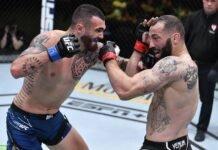 Laureano Staropoli and Roman Dolidze, UFC Vegas 28