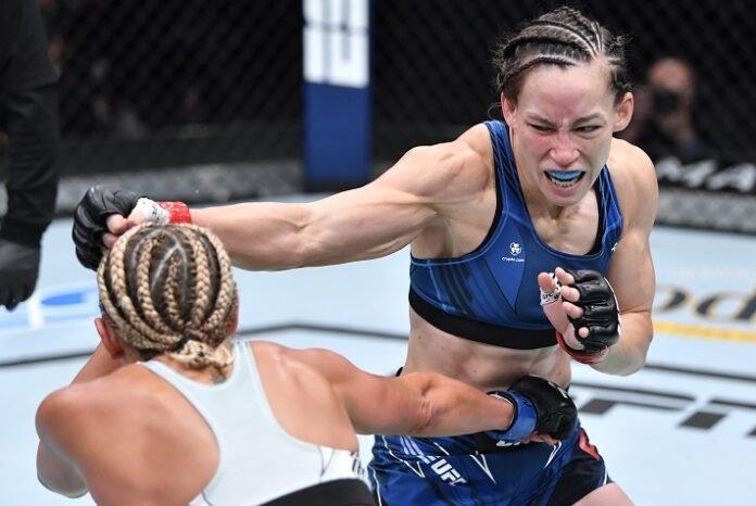 Ashley Yoder and Jinh Yu Frey, UFC Vegas 33