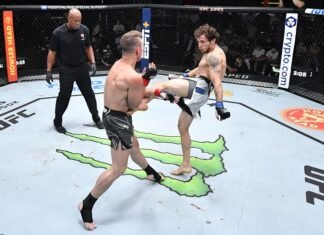 Collin Anglin and Meslik Baghdasaryan, UFC Vegas 33